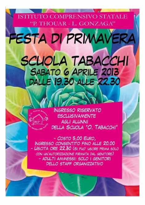 locandina festa primavera 2013