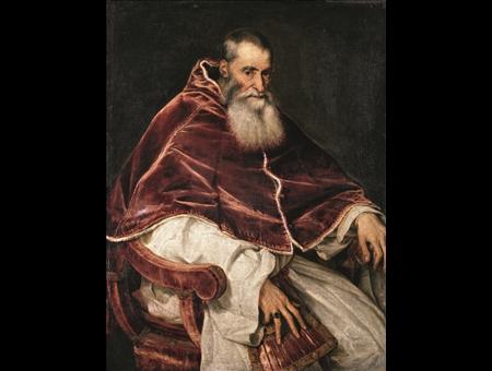 Tiziano nel Paolo III