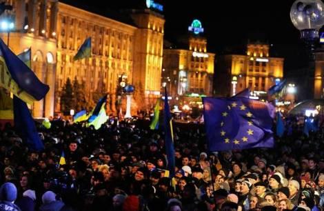 Kiev protesters denounce Ukraine rejection of EU pact